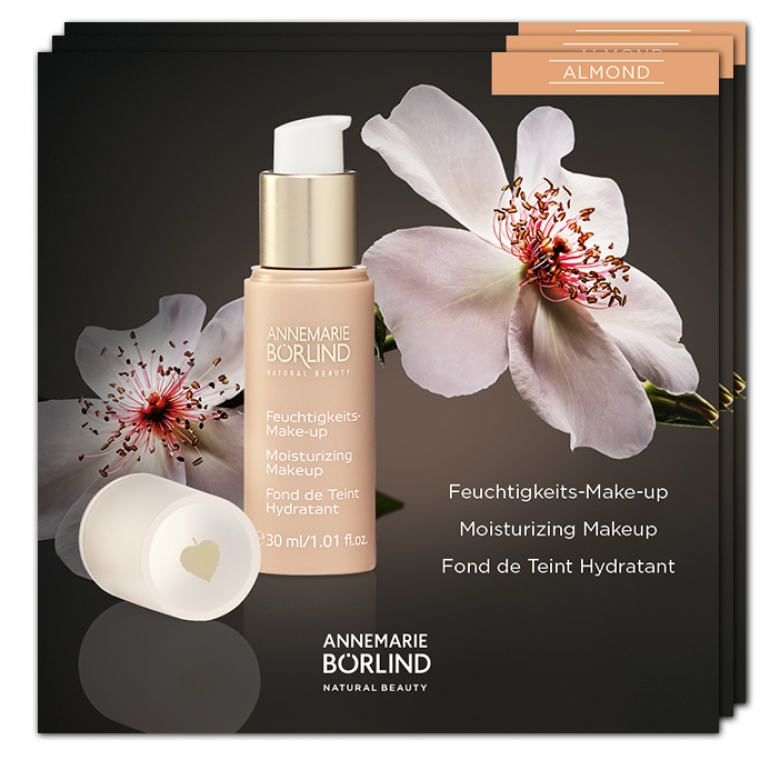 Moisturizing Makeup Almond - VZORKA