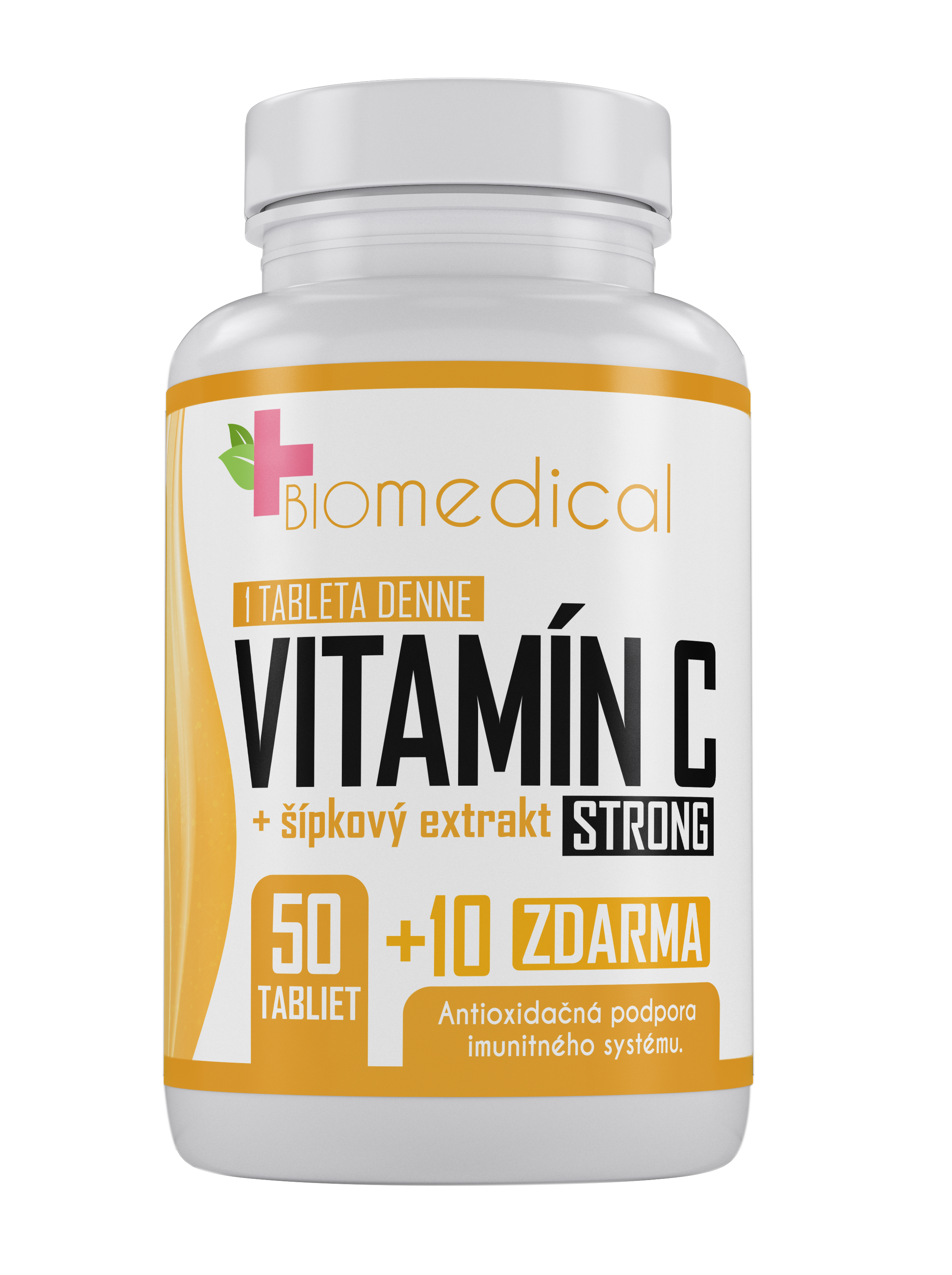BioMedical Vitamín C Strong 1000mg 60 tbl 60 tbl