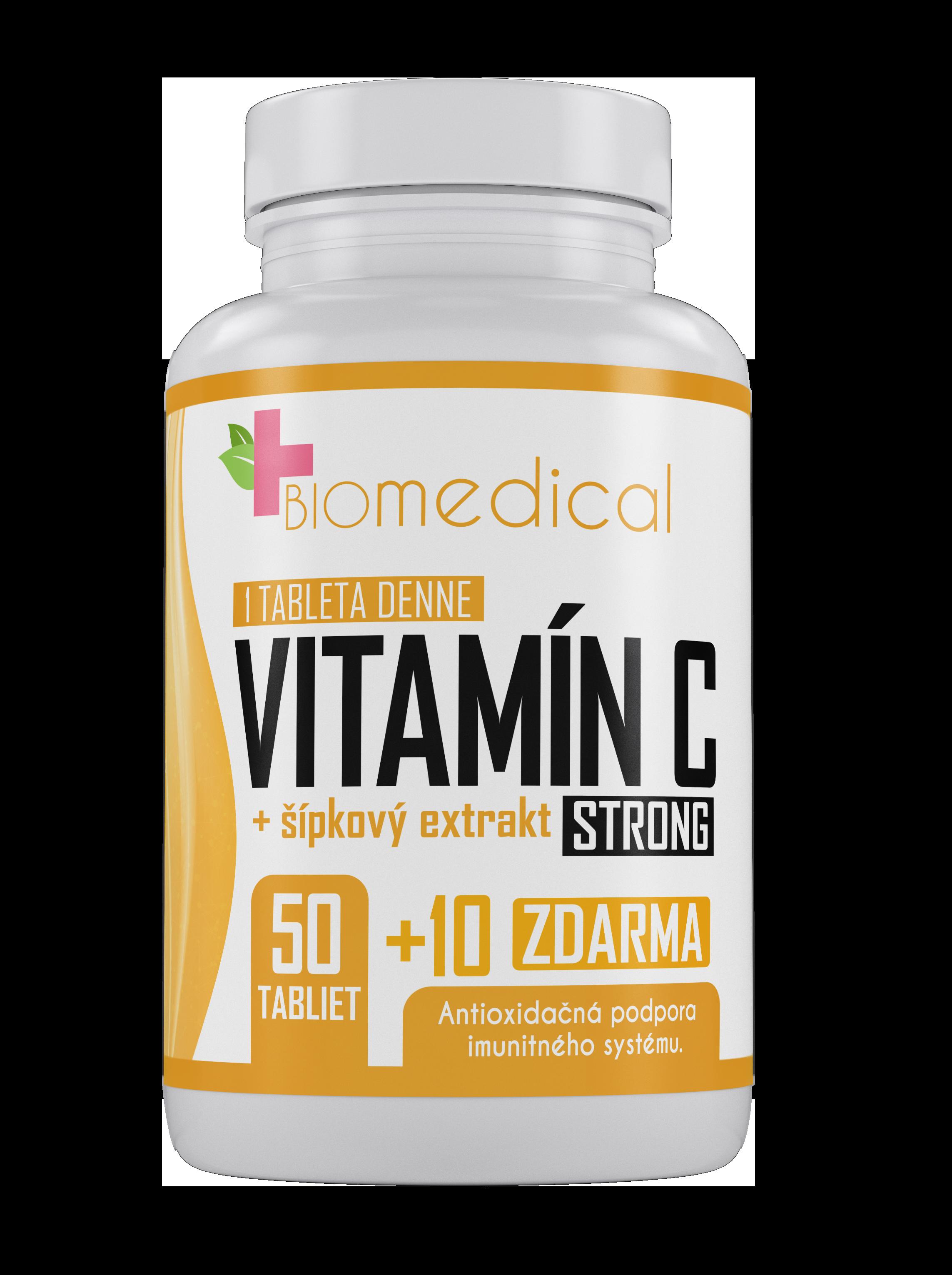 Vitamín C Strong 1000mg 60 tbl