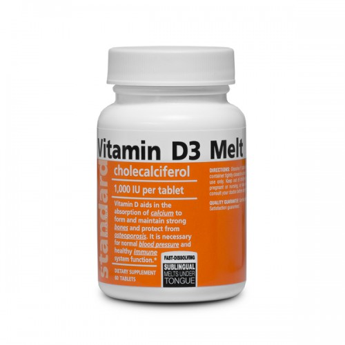 Vitamín D3, 60 tabliet