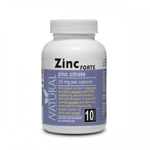 Natural Zinok forte 25 mg - 60 kapsúl 60 cps