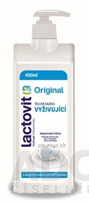 AC MARCA, S.L. Lactovit Original Telové mlieko Vyživujúce, s lactosomas 1x400 ml 1 x 400 ml