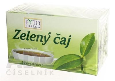 FYTOPHARMA, a.s. FYTO Zelený čaj 20x1,5 g (30 g) 20 ks