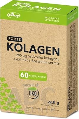 VITAR s.r.o. VITAR KOLAGÉN FORTE + extrakt z Boswellia serrata cps 1x60 ks