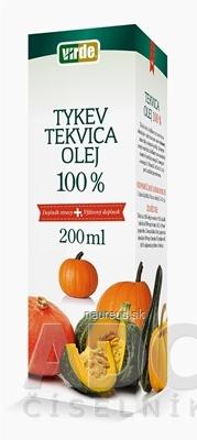 VIRDE spol. s r.o. VIRDE TEKVICA 100% OLEJ 1x200 ml 200 ml