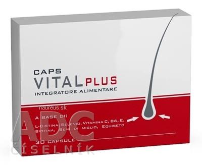 Herba Medica d.o.o. VITAL PLUS CAPS doplnok stravy na vlasy 1x30 ks