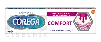 Famar S.A. COREGA Comfort fixačný krém 1x40 g 40 g