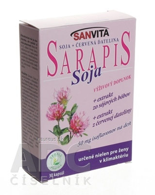VEGALL PHARMA s.r.o. SARAPIS SOJA cps 1x30 ks 30 ks