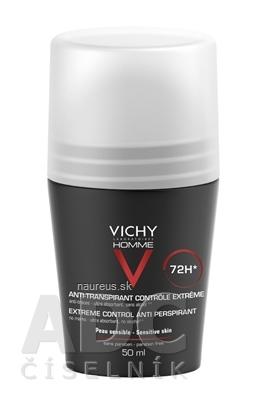 L'Oréal International VICHY HOMME DEO ROLL-ON INT.PROTI NADM.POTENIU 72H 50 ml