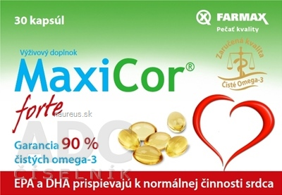 SVUS Pharma a.s. FARMAX MaxiCor forte cps 1x30 ks 30 ks