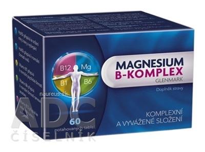 Glenmark Pharmaceuticals s.r.o. Magnesium B-komplex Glenmark tbl 1x60 ks 60 ks