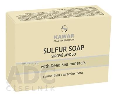El-Maydan Co. KAWAR SÍROVÉ MYDLO s minerálmi z Mŕtveho mora 1x120 g 120 g