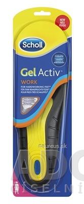 RECKITT BENCKISER Scholl Gelové vložky do topánok Work - Ženy (GelActiv) 1x1 pár