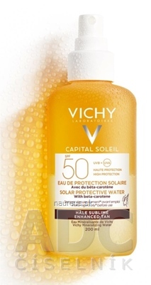 VICHY CAPITAL SOLEIL Sprej Beta-karotén SPF50 sprej na opaľovanie 1x200 ml