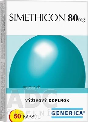 GENERICA spol. s r.o. GENERICA SIMETHICON 80 mg cps 1x50 ks 50 ks