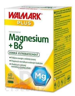 WALMARK, a.s. WALMARK Magnesium + B6 tbl 1x60 ks 60 ks