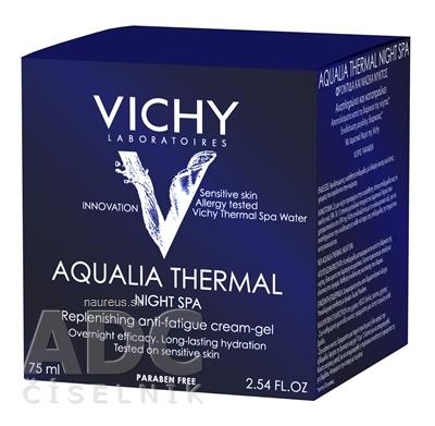 VICHY Laboratoires VICHY AQUALIA THERMAL NIGHT SPA intenzívny hydratačný nočný krém (M5962303) 1x75 ml 75ml