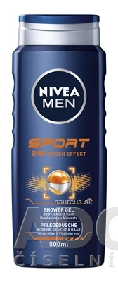 BEIERSDORF AG NIVEA MEN Sprchový gél SPORT 1x500 ml 500ml
