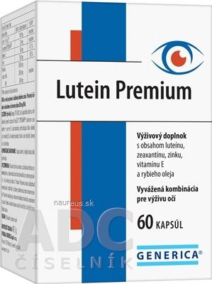 GENERICA spol. s r.o. GENERICA Lutein Premium cps 1x60 ks 60 ks