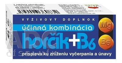 NATURVITA, a.s. NATURVITA HORČÍK + B6 tbl 1x60 ks 60 ks