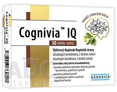 GENERICA spol. s r.o. GENERICA Cognivia IQ cps 1x30 ks 30 ks