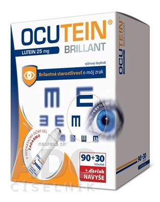 Simply You Pharmaceuticals a.s. OCUTEIN BRILLANT Luteín 25 mg - DA VINCI 120 ks