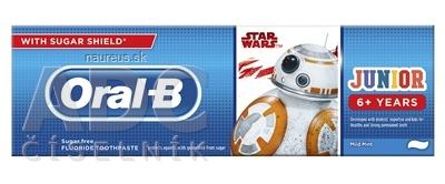 PROCTER & GAMBLE Oral-B JUNIOR Mild Mint Star Wars detská zubná pasta (od 6 rokov) 1x75 ml
