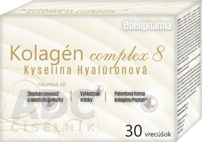 BENEVIT, s.r.o. EDENPharma Kolagén complex 8 Kyselina Hyalurónová vrecúška 1x30 ks 30 ks