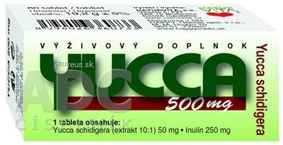 NATURVITA, a.s. NATURVITA YUCCA 500 mg Yucca shidigera tbl 1x60 ks 60 ks