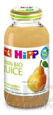 HiPP BIO Hrušková šťava (od ukonč. 4. mesiaca) 1x200 ml