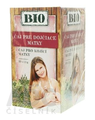 HERBEX spol. s r.o. HERBEX BIO TEA PRE KOJACE MATKY bylinný čaj 20x1,5 g (30 g) 20 x 1.5 g
