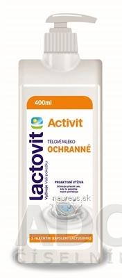 AC MARCA, S.L. Lactovit Activit Telové mlieko Ochranné, s lactosomas, s pumpičkou 1x400 ml 1 x 400 ml