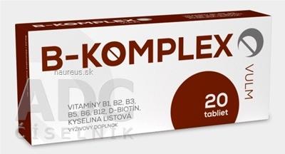 VULM s.r.o. VULM B-KOMPLEX tbl flm 1x20 ks