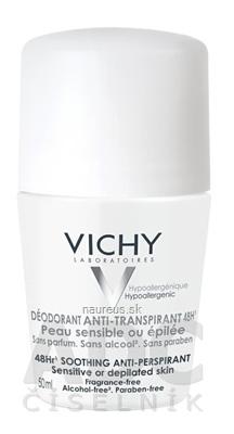 VICHY Laboratoires VICHY DEODORANT ANTI-PERSPIRANT 48H Roll-on 50 ml