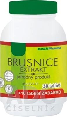 EDENPharma, s.r.o. EDENPharma BRUSNICE extrakt tbl 30+10 zadarmo (40 ks) 40 ks
