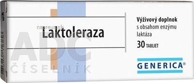 GENERICA spol. s r.o. GENERICA Laktoleraza tbl 1x30 ks 30 ks