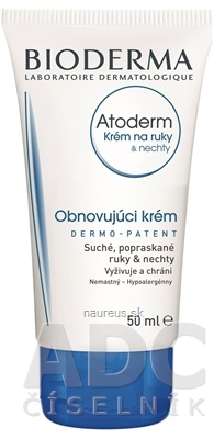 LABORATOIRE BIODERMA BIODERMA Atoderm Krém na ruky a nechty (AKCIA) 1x50 ml