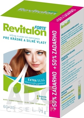VITAR s.r.o. VITAR Revitalon FORTE cps 60+30 zdarma (90 ks) 90 ks