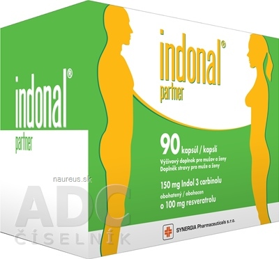 Synergia Pharmaceuticals, s.r.o. Indonal partner 90 ks