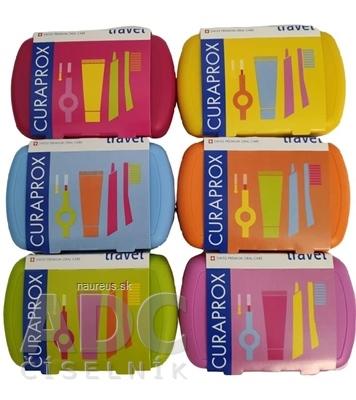 CURAPROX Travel set (1x zubná kefka, 2x medzizubná kefka CPS, 1x zubná pasta 10 ml) 1x1 set