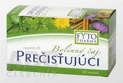 FYTOPHARMA, a.s. FYTO Bylinný čaj PREČISŤUJÚCI 20x1,5 g (30 g) 20 x 1.5 g