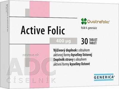 GENERICA spol. s r.o. GENERICA Active Folic tbl 1x30 ks 30 ks
