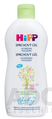 Hipp Beteiligungs AG HiPP BabySANFT Sprchový gél (od narodenia) 1x400 ml