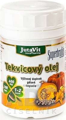 JutaVit Tekvicový olej cps 1x100 ks