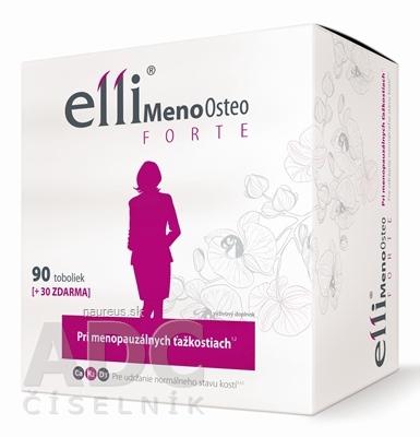 Simply You Pharmaceuticals a.s. Elli MenoOsteo FORTE 120 ks