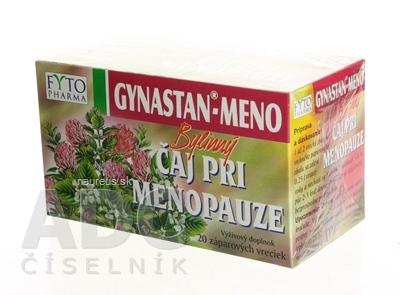 FYTOPHARMA, a.s. FYTO GYNASTAN-MENO Bylinný čaj pri menopauze 20x1,5 g (30 g) 20x1,5 g (30 g)
