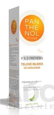 OMEGA PHARMA a.s. omega PANTHENOL 9% ALOE VERA telové mlieko po opaľovaní 1x250 ml 250 ml