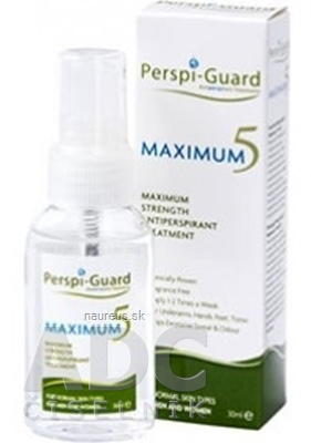 Perspi-Guard MAXIMUM 5 antiperspirant 1x30 ml