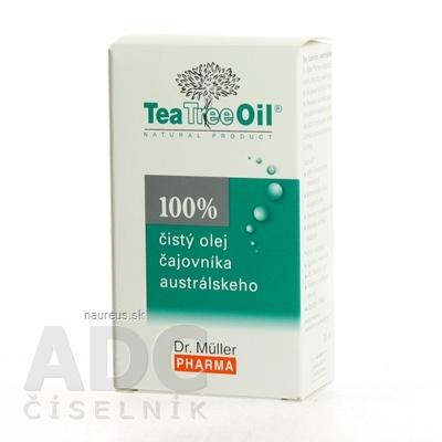 Dr. Müller Pharma s.r.o. Dr. Müller Tea Tree Oil 100% čistý olej 1x30 ml 30 ml