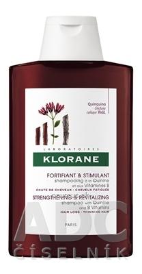 Pierre Fabre Dermo-cosmétique KLORANE SHAMPOOING À LA QUININE ET AUX VITAMINES B posilňujúci vlasový šampón s chinínom a vitamínmi B 1x200 ml 200 ml
